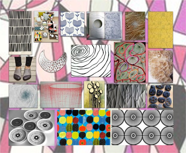 a selection of patterns that Iike