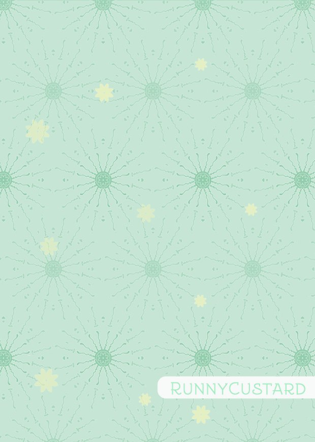 Sunny Bones experiments - sunshine spread. Mint version