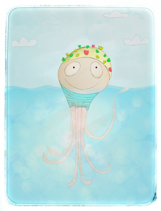 Octopus Character Illustration ... just for fun...